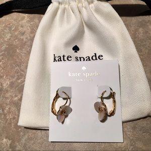 Kate Spade ♠️ Disco Pansy Lever Back Earrings